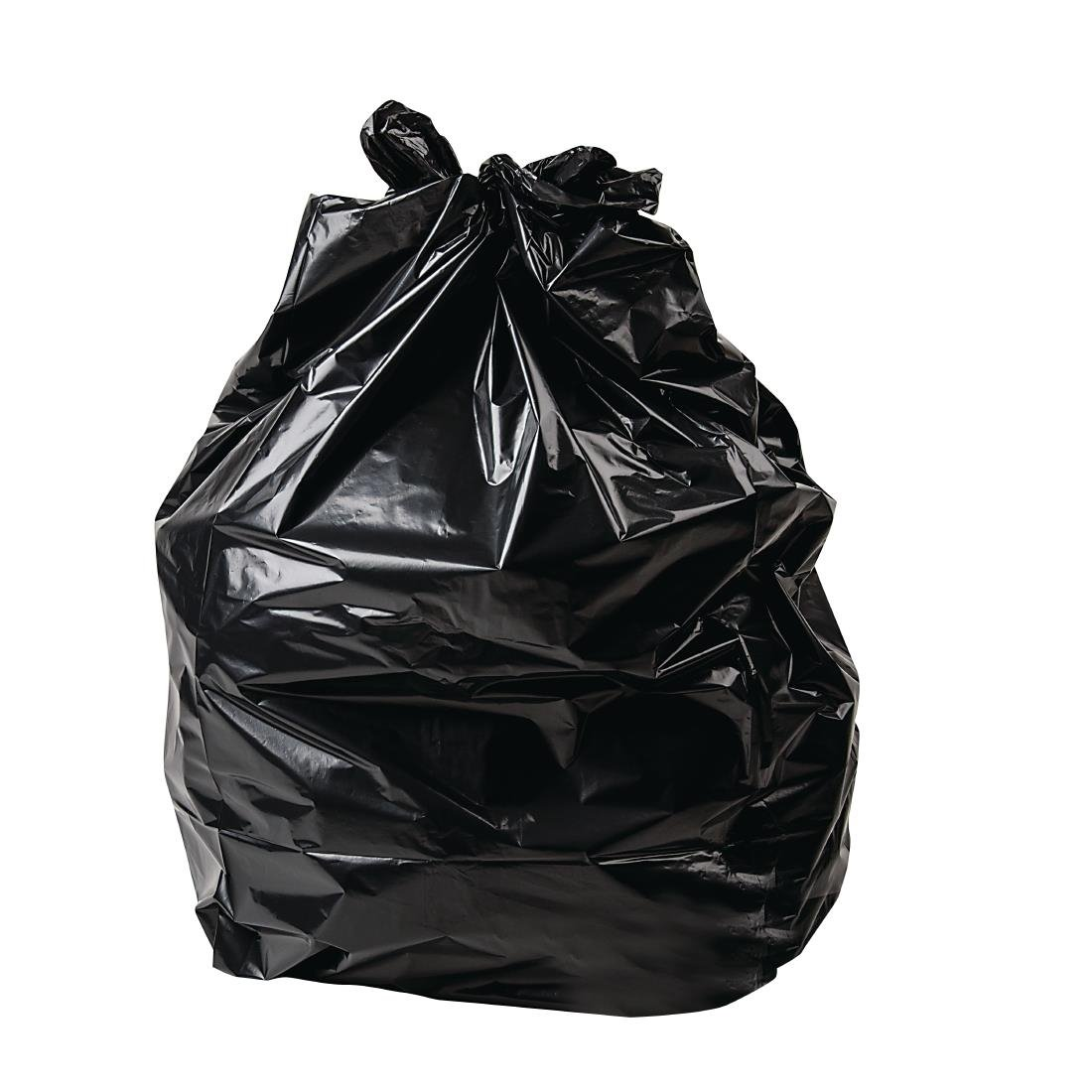 Bags Black Medium Duty Black Bin Bags 70Ltr (200)