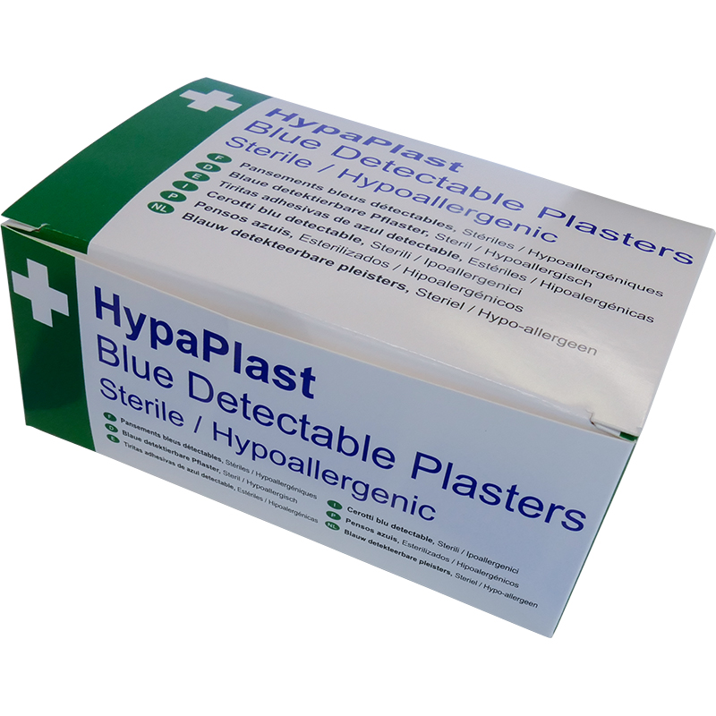 Plasters Blue Detectable assorted (100)