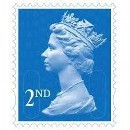 Stamps 2nd Class Large (4)