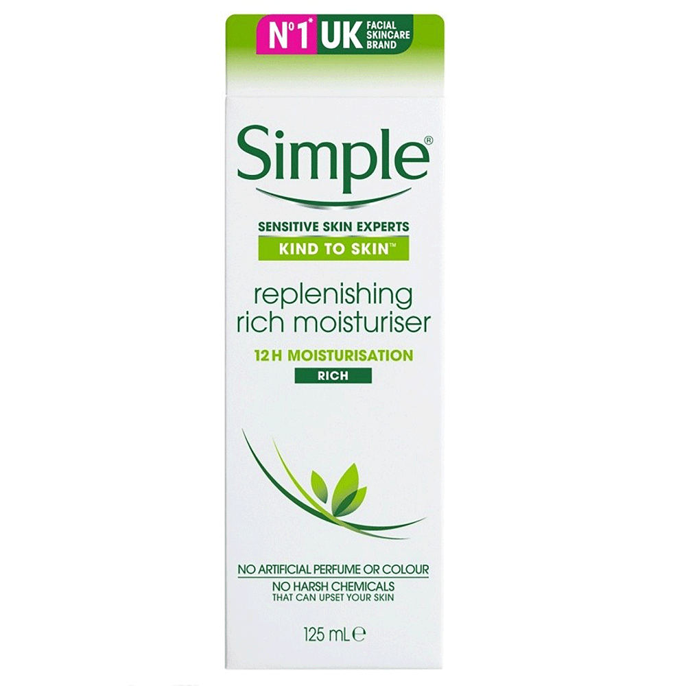 Moisturiser Simple Replenishing Rich (125ml)